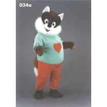 Mascotte vos in outfit-10