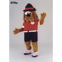 Mascotte hond in tenue-10