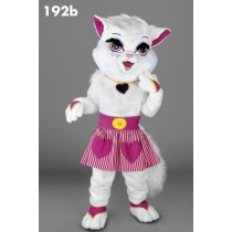 Mascotte poes in roze-10
